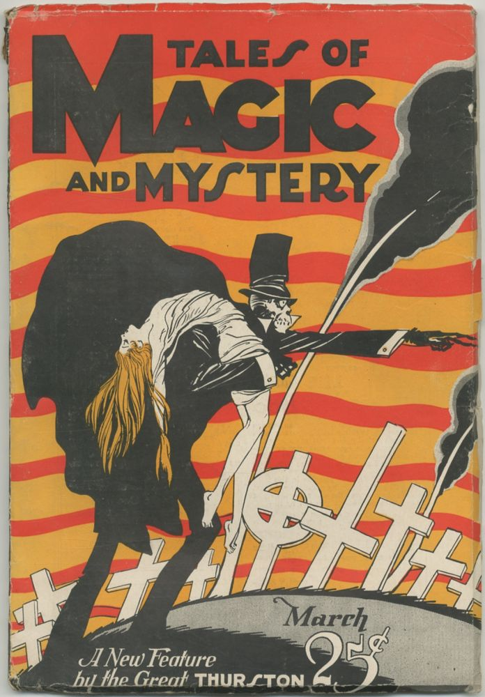 [Pulp Magazine]: Tales of Magic and Mystery - 4, March 1928. H. P. LOVECRAFT, Walter B. Gibson.