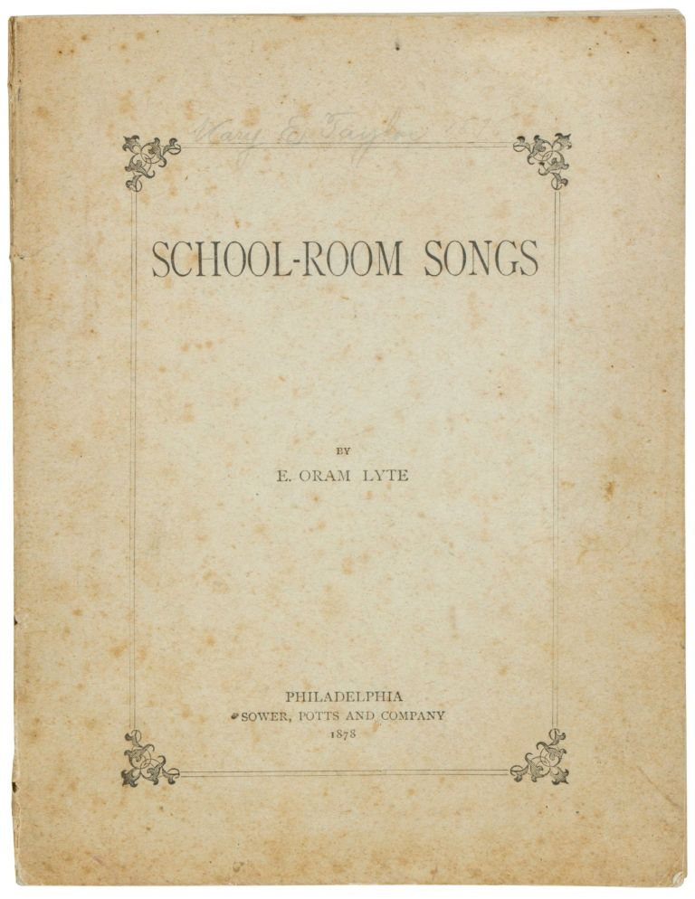School-Room Songs