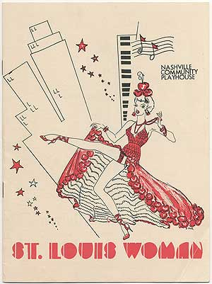 [Playbill]: St. Louis Woman. Arna BONTEMPS, Johnny Mercer, , Countee Cullen, Harold Arlen, Lanston Hughes.