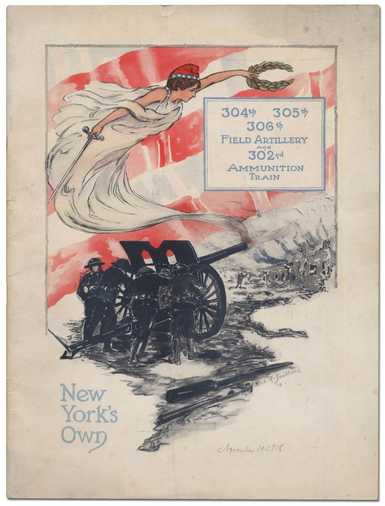 [Program, cover title]: 304th 305th 306th Artillery and 302nd Ammunition Train. New York's Own