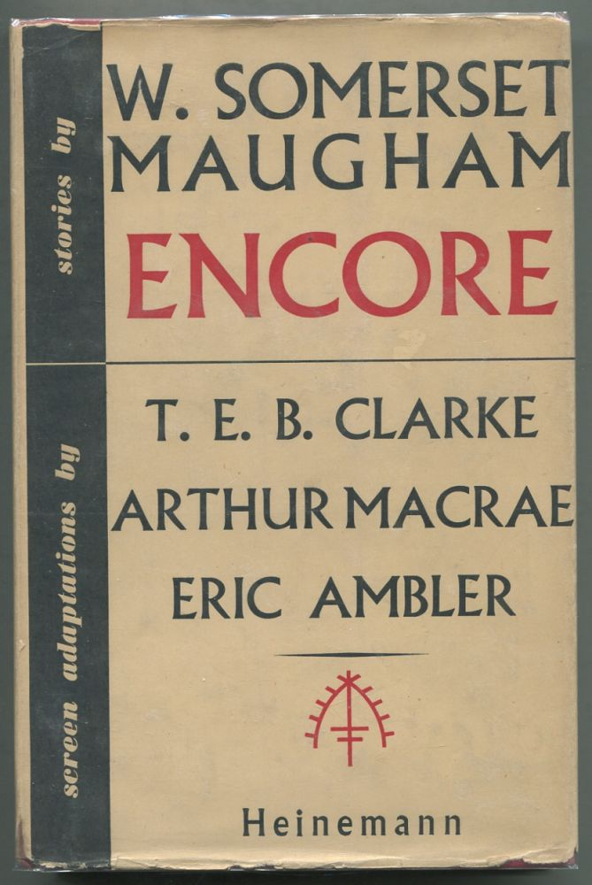 Encore. W. Somerset MAUGHAM.