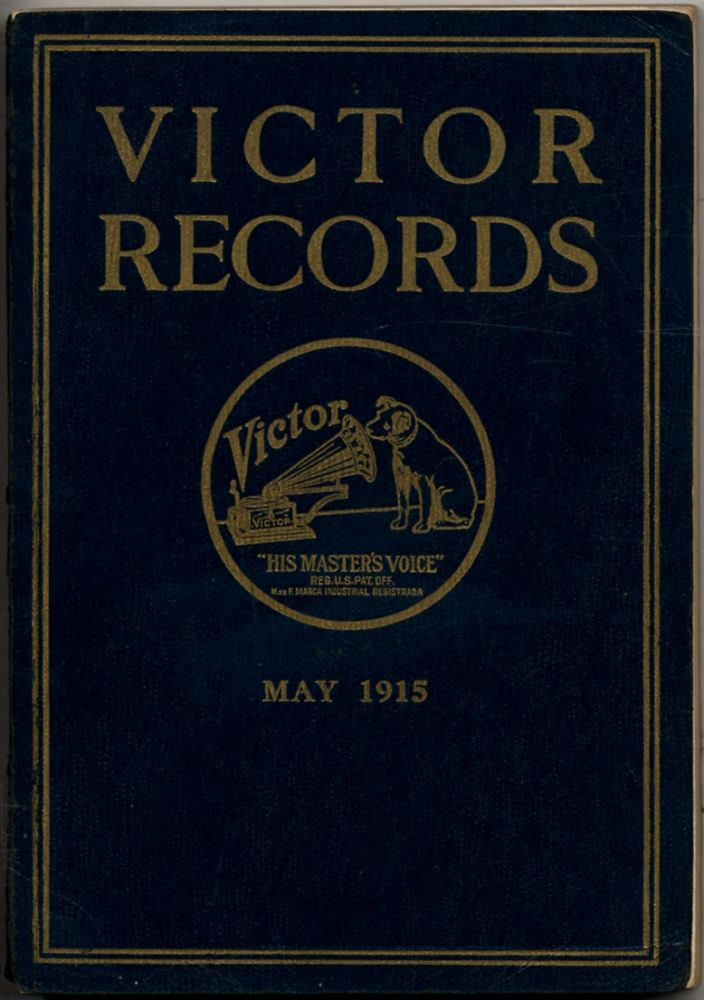 [Cover title]: Victor Records May, 1915