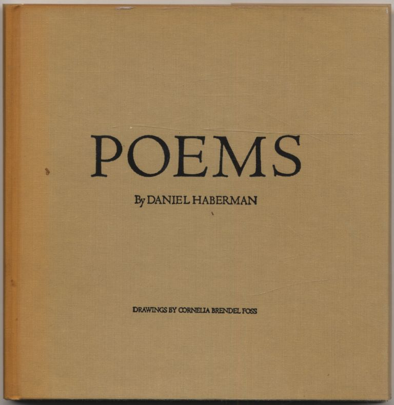 Poems. Daniel HABERMAN.