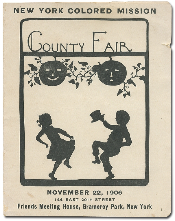 Program]: New York Colored Mission County Fair. November 22, 1906