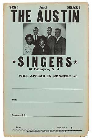 The Austin Singers of Palmyra, N.J. Will Appear in Concert