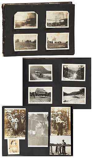 [Photo Album]: Western Travel and Family Photographs in the United States