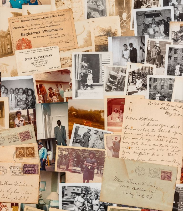 [Loose Photographs]: Correspondence and Photographs to African-American Women from 1899-1995. Elaine V. LACEY, Katherine Williams, Mary Porter.