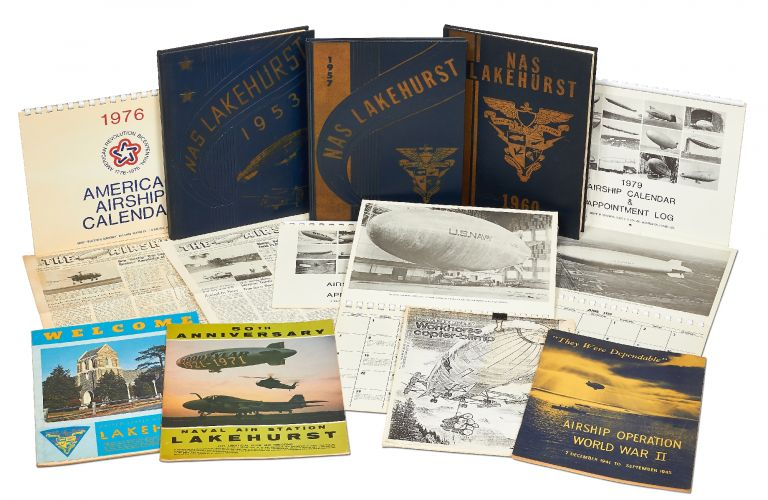 Collection of Lakehurst Naval Air Station Material