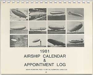 1981 Airship Calendar & Appointment Log