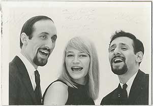 [Signed Photograph]: Peter, Paul and Mary