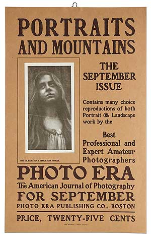 [Broadside]: Portraits and Mountains. The September Issue... Photo Era: The American Journal of Photography... Price, Twenty-Five Cents