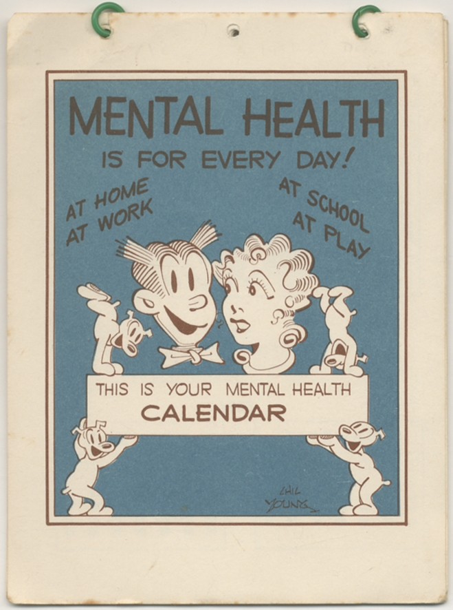 Mental Health is for Every Day! This is your Mental Health Calender