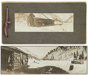 [Photographs]: Panoramic Images of a Western(?)Cabin