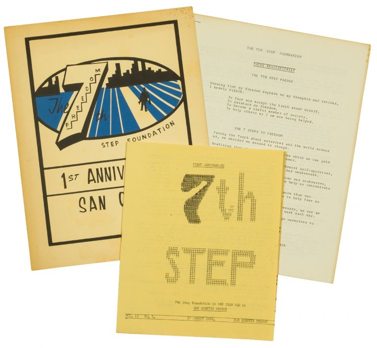 [Archive]: The 7th Step Foundation, 1st Anniversary, San Quentin, August 17, 1966.