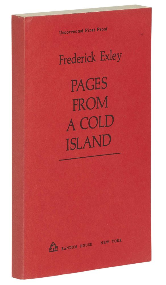 Pages From a Cold Island. Frederick EXLEY.
