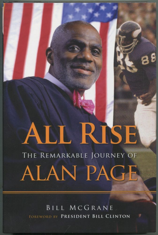 All Rise: The Remarkable Journey of Alan Page. Bill McGRANE.