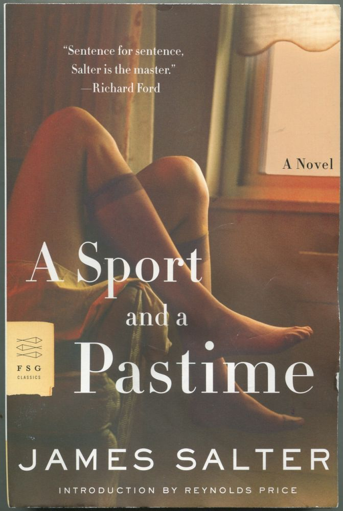 A Sport and a Pastime. James SALTER.