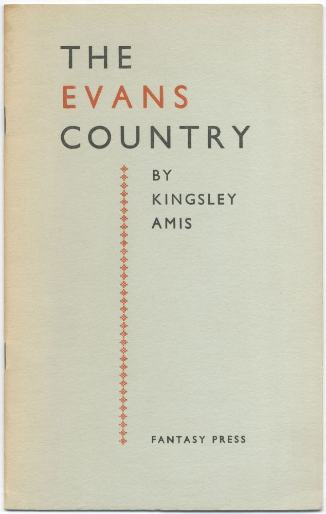 The Evans Country. Kingsley AMIS.