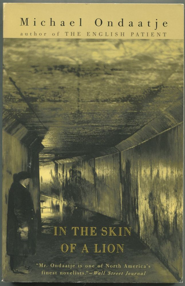 In the Skin of a Lion. Michael Ondaatje.