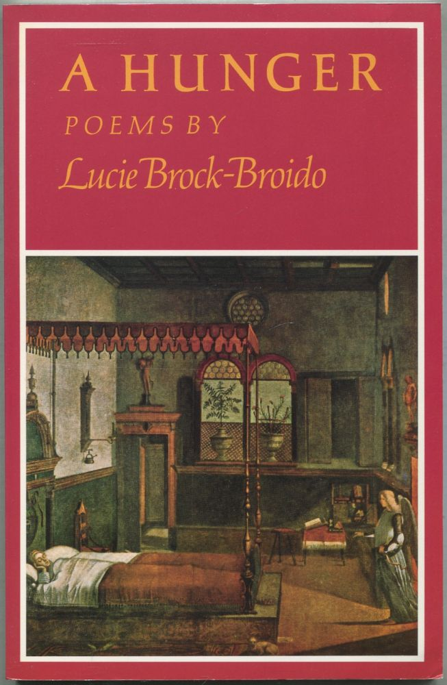A Hunger. Lucie BROCK-BROIDO.