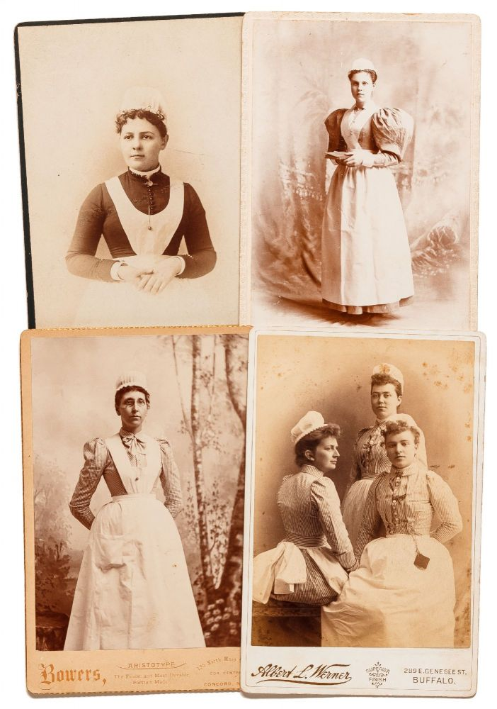 [Loose Photographs]: Cabinet Cards of New England Nurses