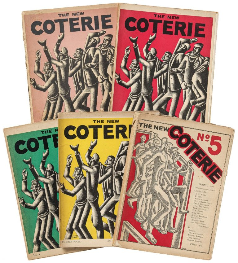 The New Coterie: A Quarterly. Issues No. 1-4