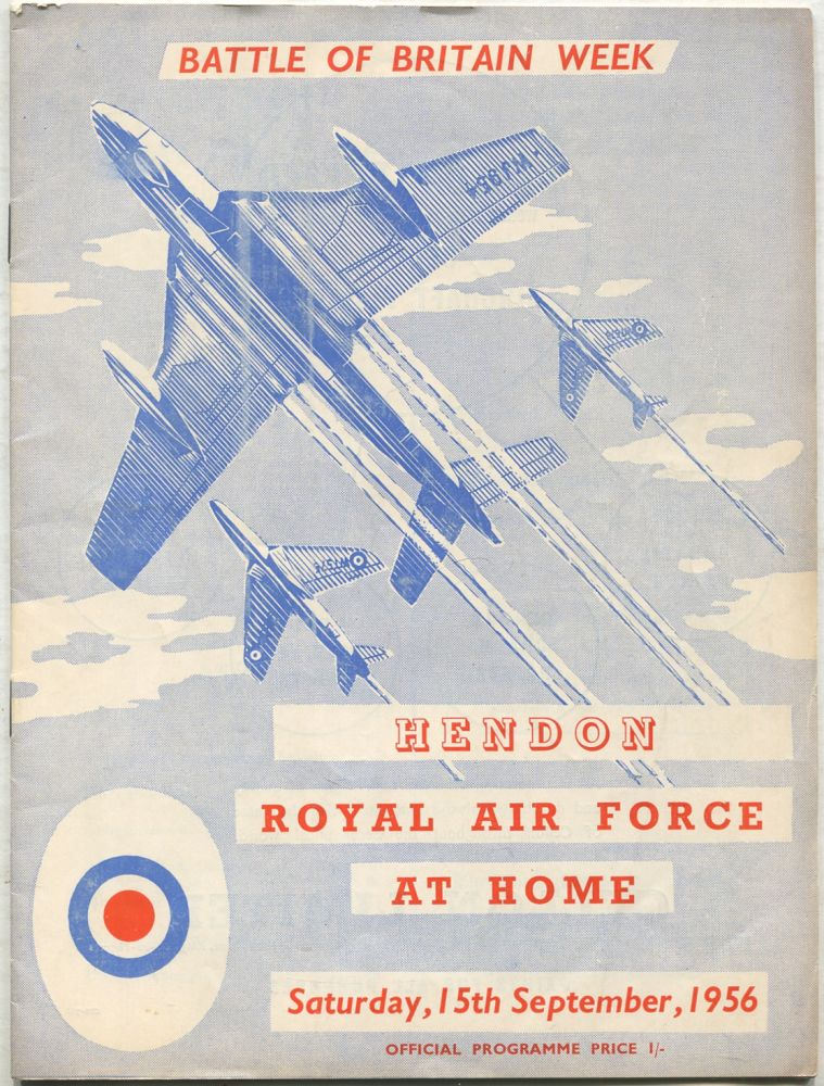 Battle of Britain Week: Royal Air Force at Home, Hendon, Saturday, 15th September, 1956