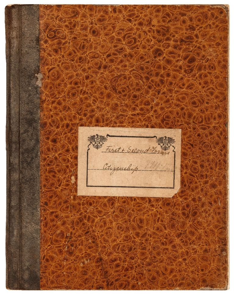[Journal]: Woman's Teachers Daily Log Book and Journal with Letters from her Students. Miss ABBOTT.