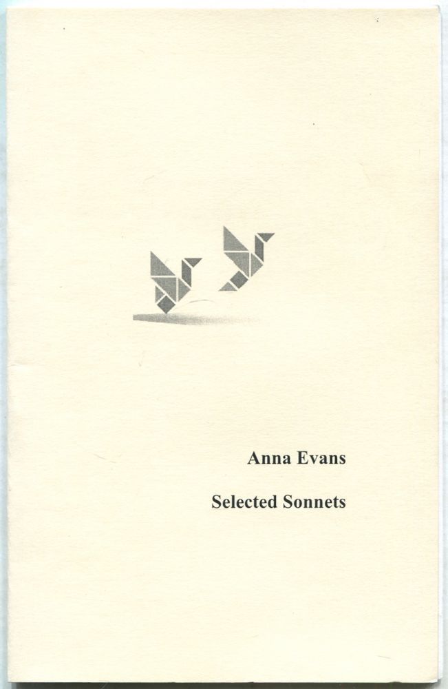 Selected Sonnets. Anna EVANS.