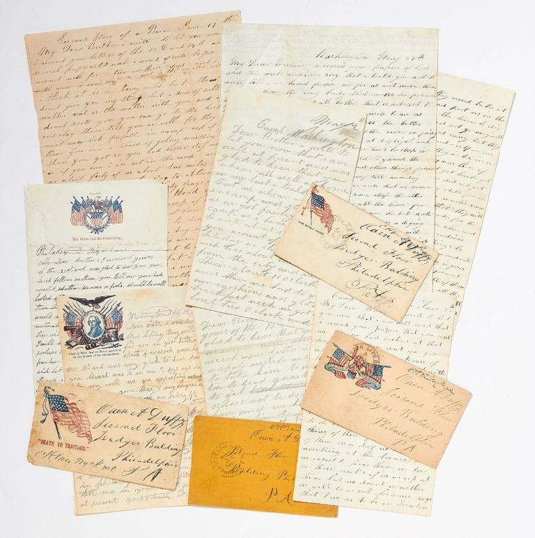 [Archive]: New Jersey Civil War Letters. Private Edward DUFFY.