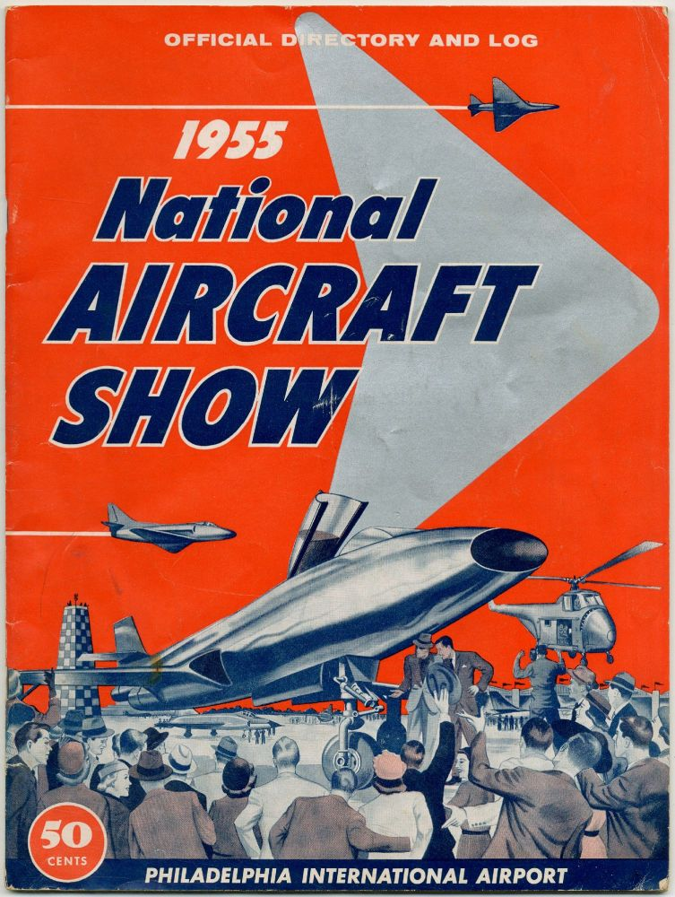 (Program): Official Directory and Log 1955 National Aircraft Show