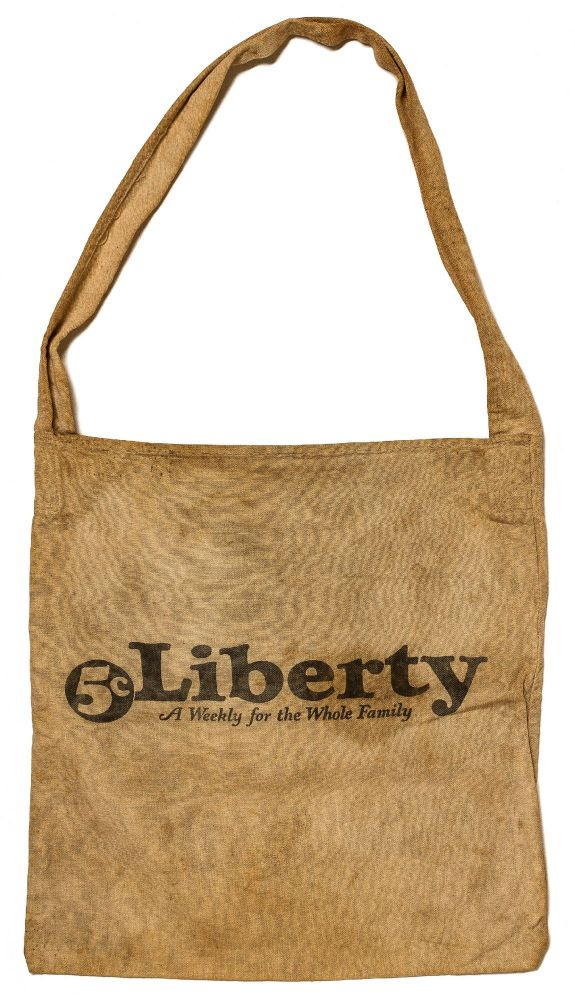 [Carrier Bag]: Liberty: A Weekly for the Whole Family. 5c