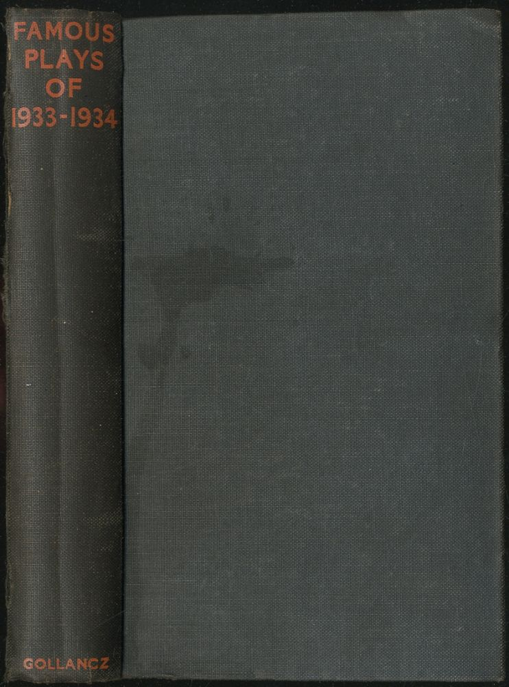 Famous Plays of 1933-1934