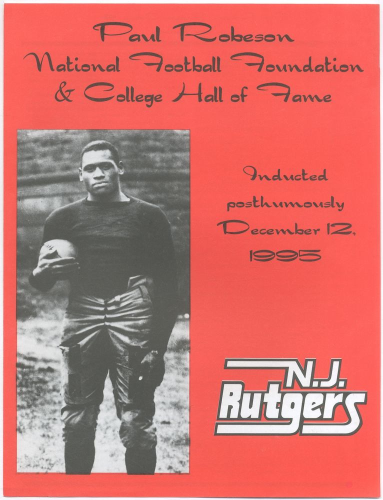 Paul Robeson Rutgers College '19. Jerry IZENBERG.