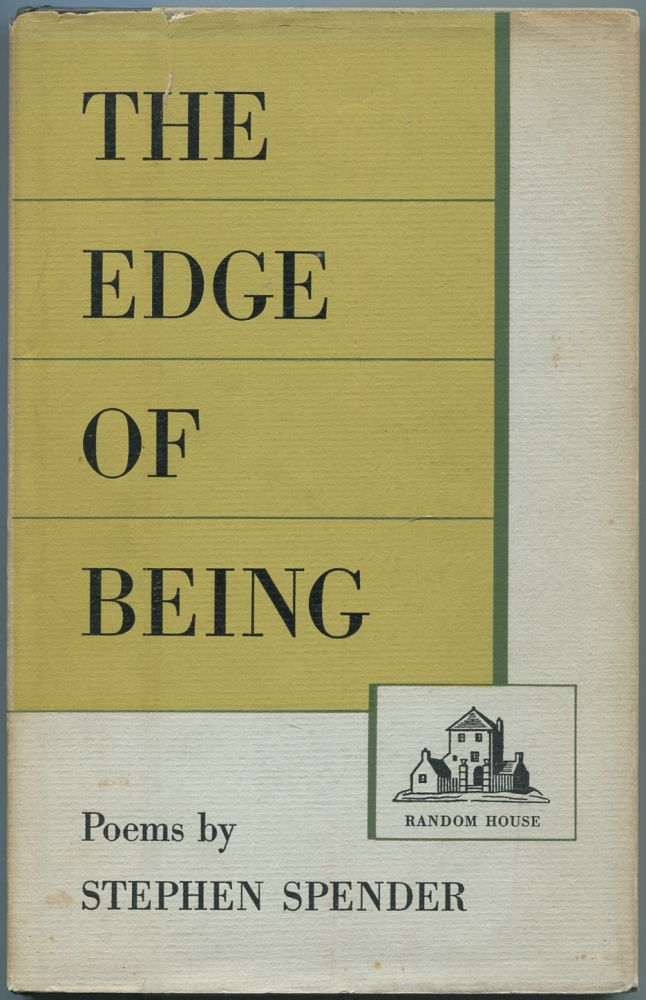 The Edge of Being. Stephen SPENDER.