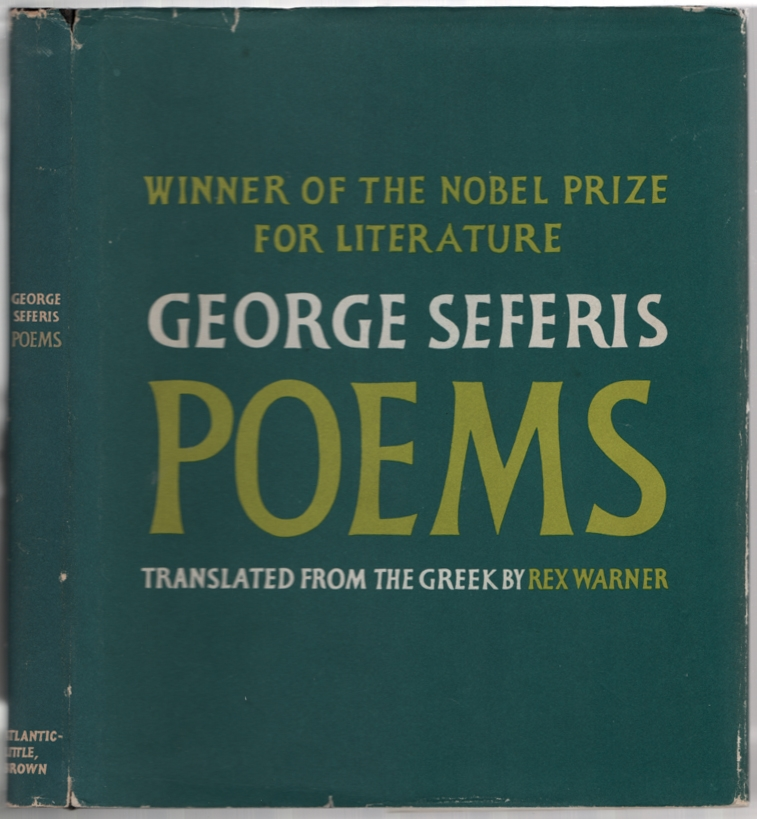 Poems. George SEFERIS.