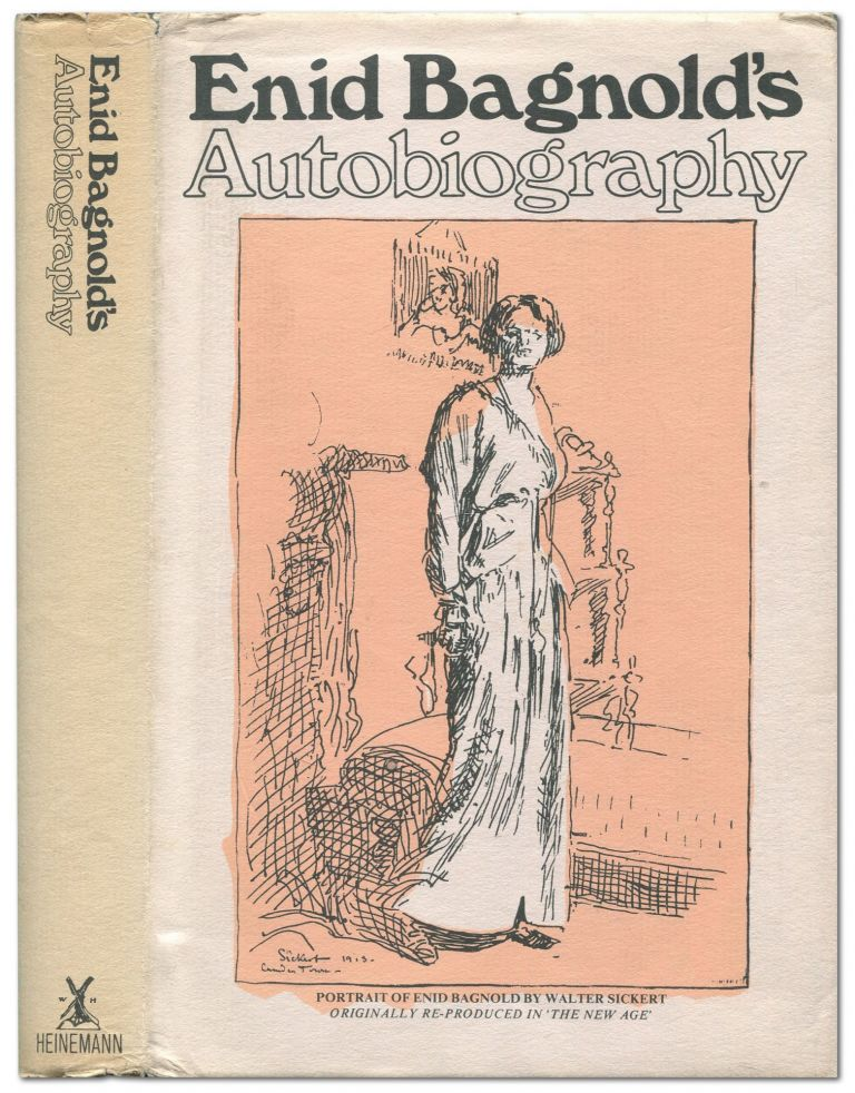 Enid Bagnold's Autobiography (from 1889). Enid BAGNOLD.