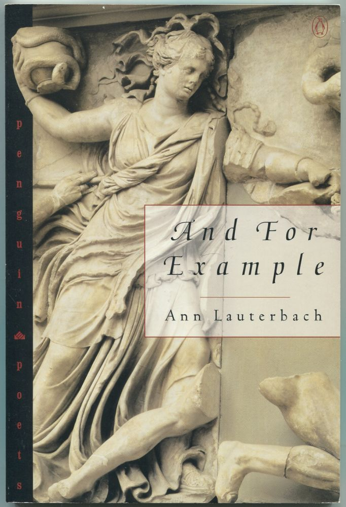 And for Example. Ann LAUTERBACH.
