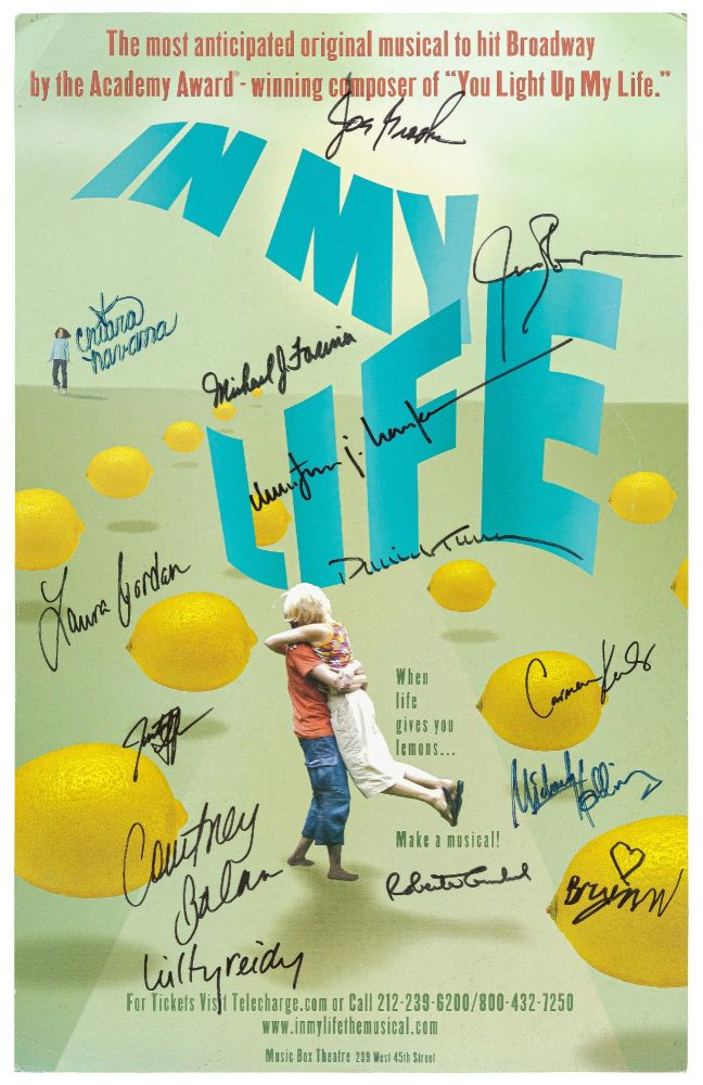 Theatrical Poster): In My Life: The Most Anticipated Original Musical to Hit Broadway by the...