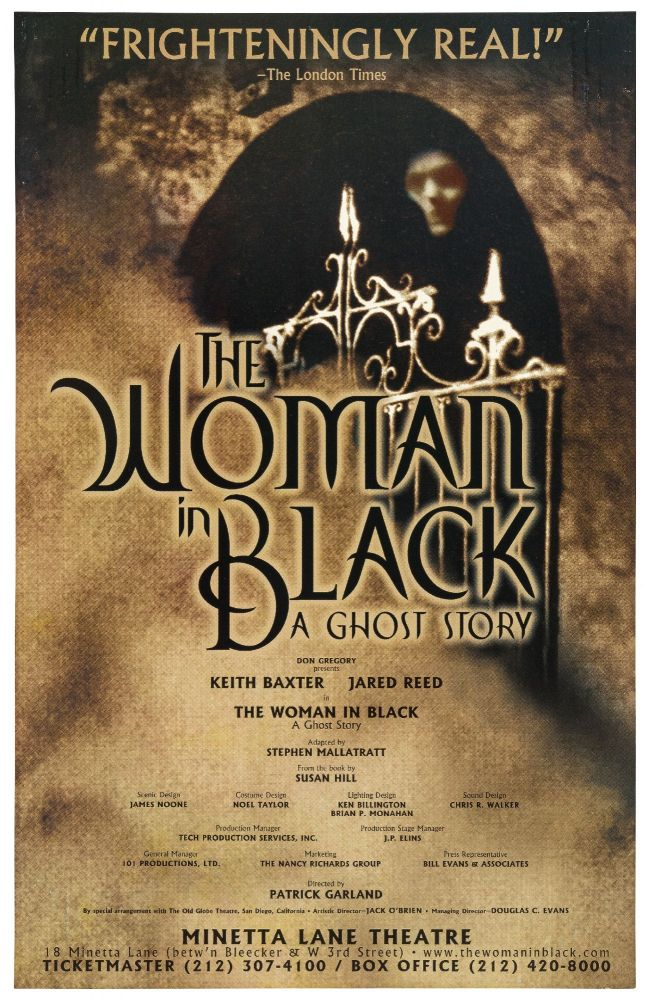 [Theatrical Poster]: The Woman in Black: A Ghost Story