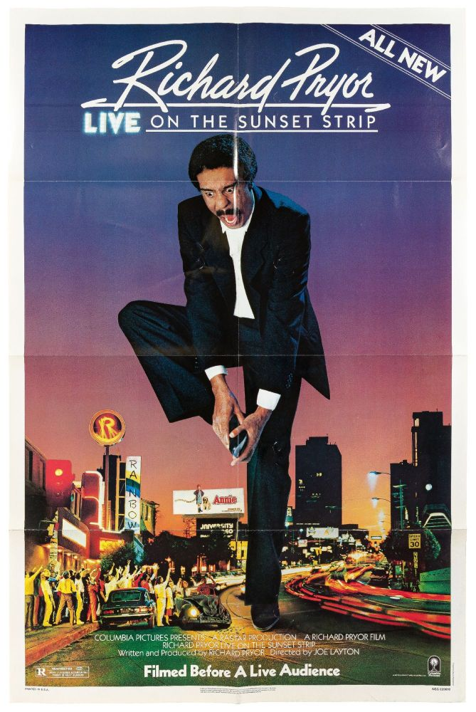 [Film Poster]: Richard Pryor Live on the Sunset Strip