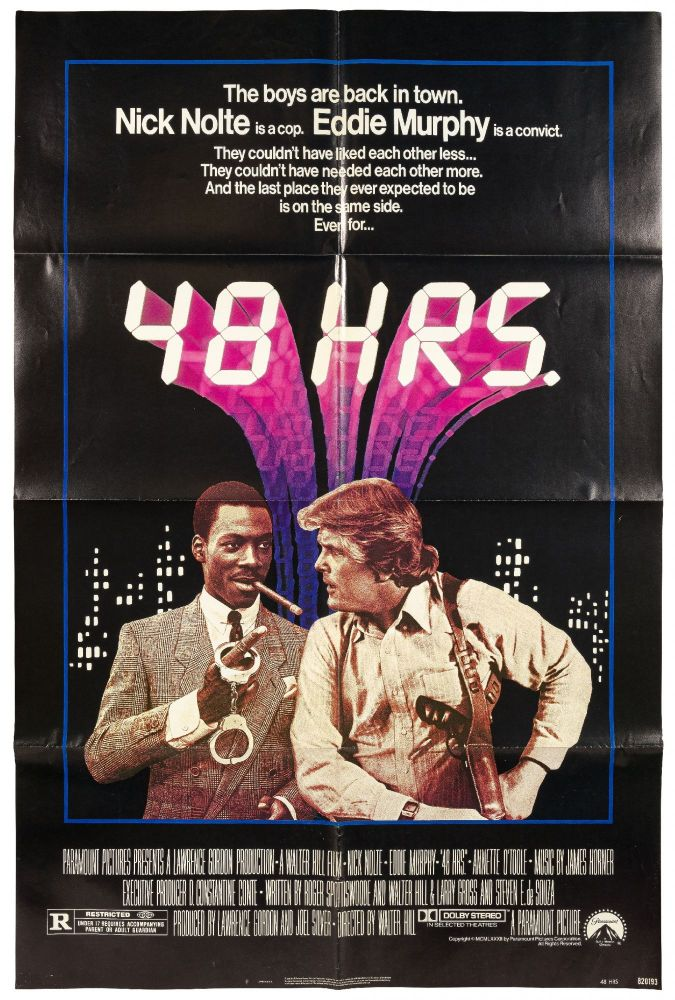 (Film Poster): 48 Hours