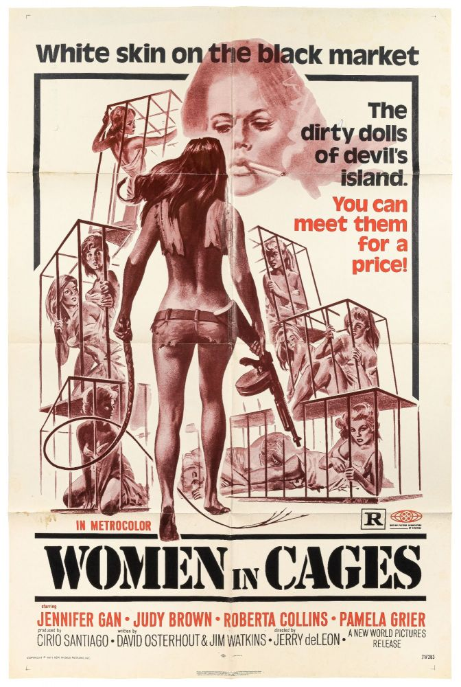 [Film Poster]: Women in Cages