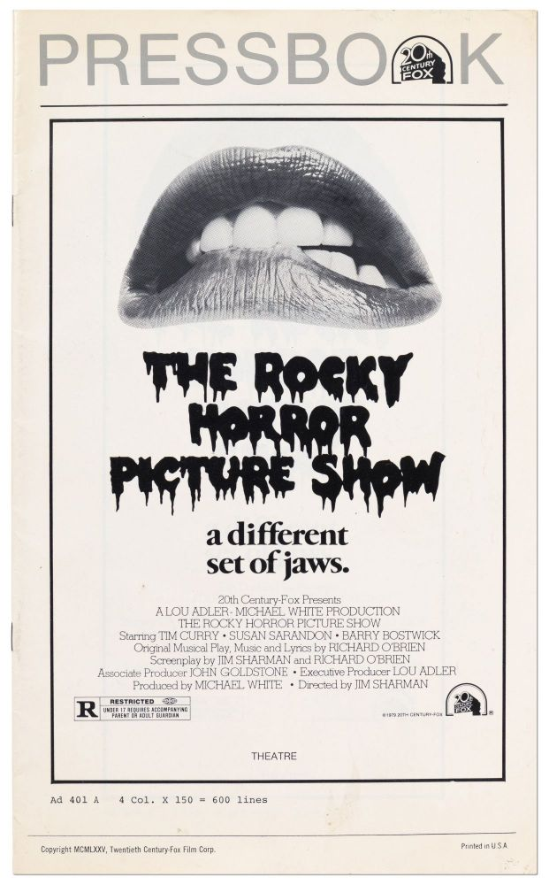 Pressbook: The Rocky Horror Picture Show