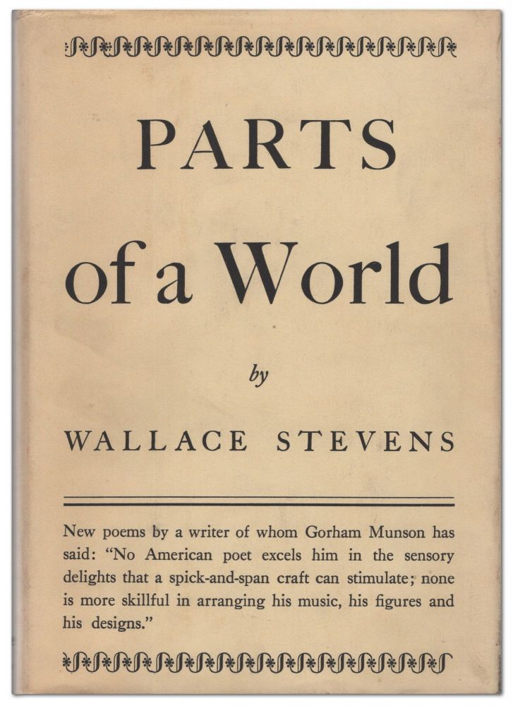 Parts of a World. Wallace STEVENS.