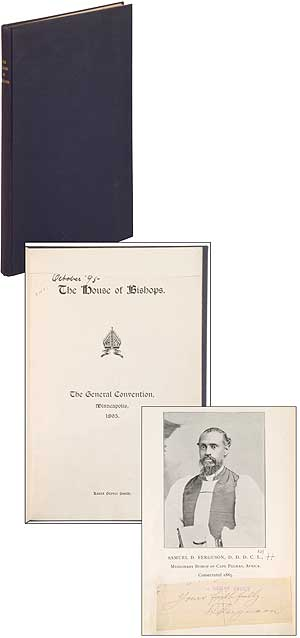 The House of Bishops. The General Convention, Minneapolis, 1895. Laura Grover SMITH.