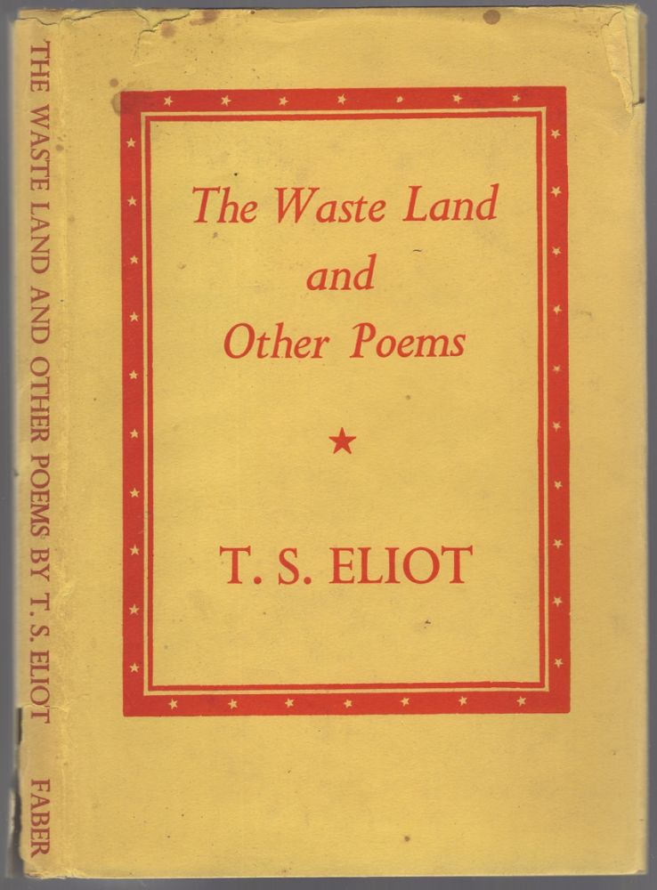 The Waste Land: And Other Poems. T. S. ELIOT.