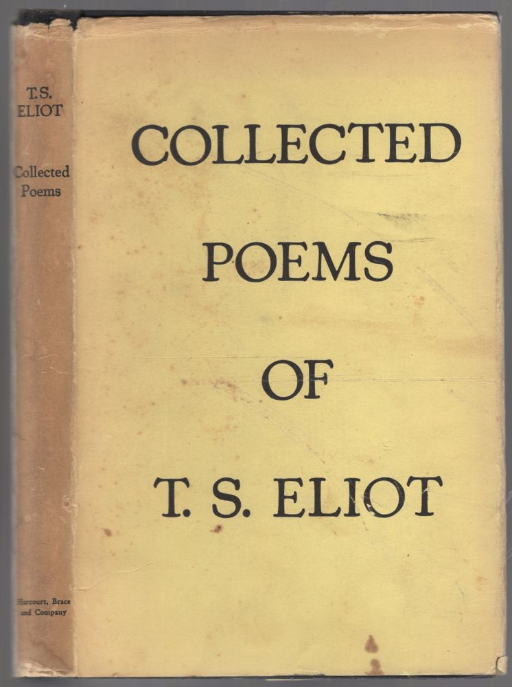 Collected Poems: 1909-1935. T. S. ELIOT.