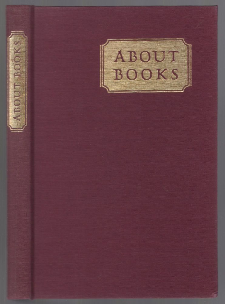 About Books: A Gathering of Essays