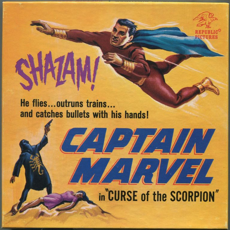 """[8mm Film]: Captain Marvel in """"Cures of the Scorpion"""""""